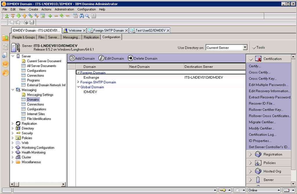 getting started with a lotus notes to exchange mail